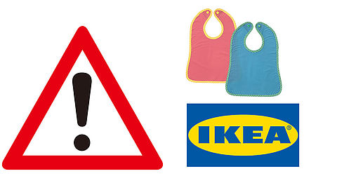 Slabbetje van IKEA teruggeroepen