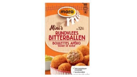 Waarschuwing: Mora-bitterballen teruggeroepen}