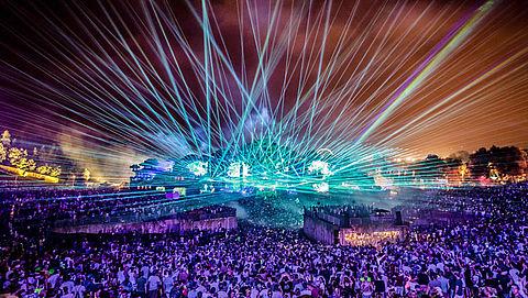 Tienduizenden festivalgangers vooraf gescreend