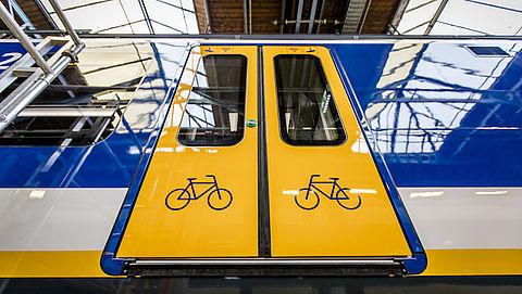 Fietsersbond: niet genoeg plaats voor fietsen in trein