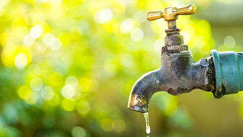 Watertoevoer afgeknepen in het oosten van Nederland