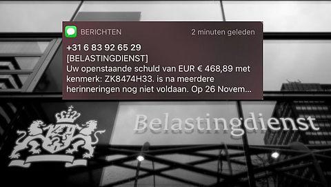 Pas op voor nieuw sms'je oplichting 'Belastingdienst'
