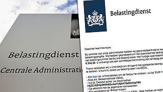 Let op: valse e-mail over betalingsachterstand uit naam van de Belastingdienst