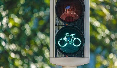 Proef fietsstoplichten met warmtesensor is succes}