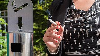 Sigaretten met gaatjes in filter zijn net zo ongezond