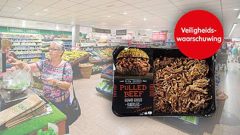 Brandenburg Culinair waarschuwt voor allergeen in pulled beef met saus}