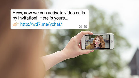 Let op! Vals bericht over activeren WhatsApp-videobellen}
