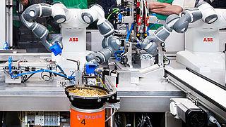 Robots in voedselindustrie dragen bij aan betaalbaarheid van eten