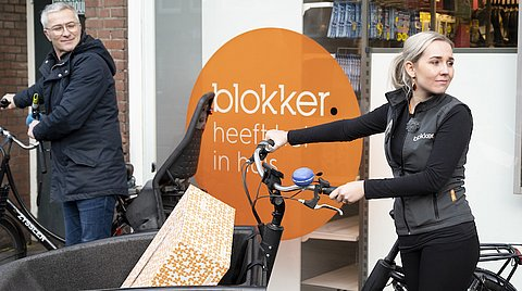 Medewerkers winkelketens bezorgen zelf ook aan huis