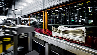 Geen krant in de bus door storing bij drukkerij