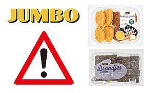 Jumbo roept volkorenbroodjes en Mini Burger-Nuggets terug