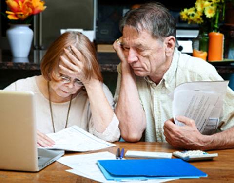 Pensioen in de vriezer