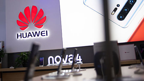 'Verkoop Huawei-smartphones ruim 40 procent afgenomen'}