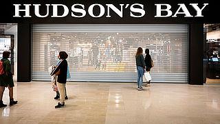 Hudson's Bay door rechtbank failliet verklaard
