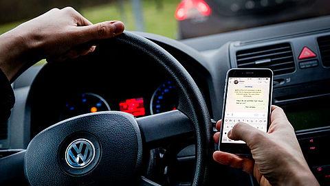 Proef met sensor tegen bellende automobilisten in Engeland