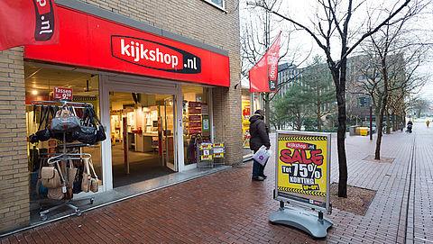 Kijkshop sluit kwart Nederlandse winkels