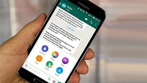 Android-gebruikers kunnen via WhatsApp alle bestandstypes naar elkaar versturen}