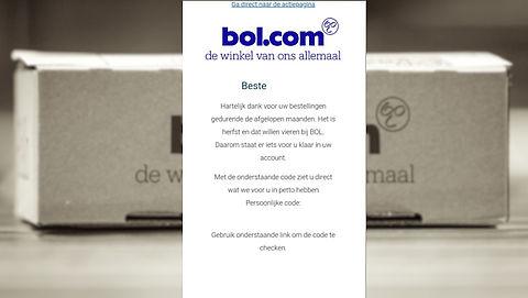 Pas op voor nieuwe nepmail Bol.com