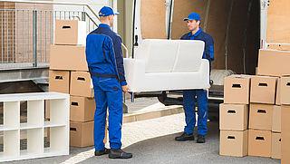 Schade door verhuisbedrijf: wat zijn je rechten?