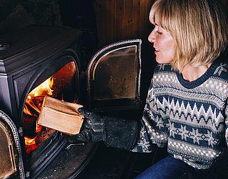 Rook uit houtkachels slecht voor buren