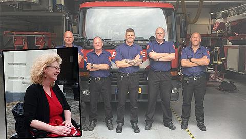 Douche: Brandweer
