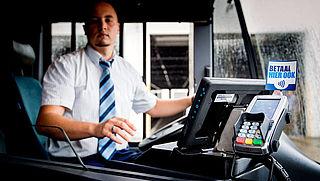 Contant betalen in Amsterdamse bus niet meer mogelijk