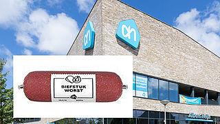 Terugroepactie AH: 'Poepbacterie op biefstukworst'