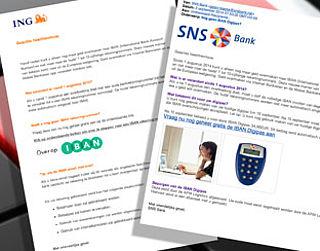 Weer nieuwe IBAN-phishingmails in omloop
