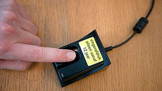 Vingerafdruk op identiteitskaart komt terug