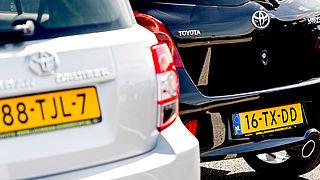 Nieuwe cijferlettercombinaties bij kentekens auto's