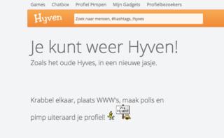 Hyves is terug onder de naam Hyven.nl, maar brengt risico's met zich mee