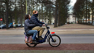 'Snorfiets te vervuilend voor fietspad'