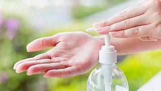 'Gebruik desinfecterende middelen met mate'
