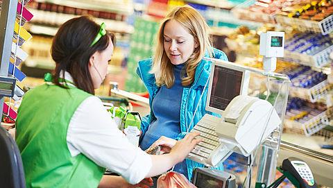 Brandbrief: Verbied contant betalen in supermarkten