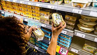 Margarine fors gestegen in prijs