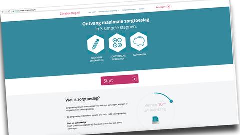 Opgelet bij het aanvragen van zorgtoeslag op Zorgtoeslag.nl}