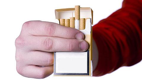 Blanco sigarettenpakjes in Noorwegen}
