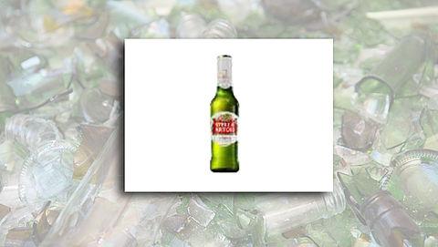 Stella Artois roept bierflesjes terug om stukjes glas}