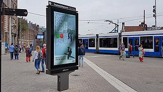 Exterion schakelt camera's in reclameschermen op stations voorlopig uit