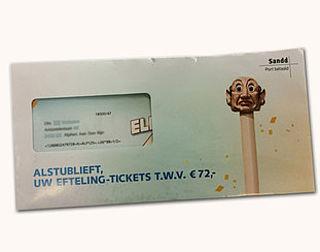 Kansspelautoriteit: 'Eftelingkaartjes-actie BankGiro Loterij misleidend'