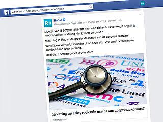 Honderden reacties op Radar-oproep over zorgverzekeraars