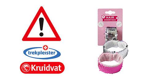 Kruidvat en Trekpleister roepen accessoire van Hair Essentials terug}