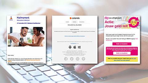 Let op: Phishingmails in omloop van 'Rabobank', 'Zalando' en 'ov-chipkaart'