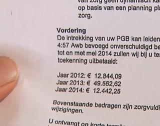 Van Rijn ziet verbetering in pgb-probleem