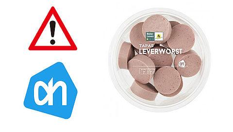 Albert Heijn roept leverworst terug wegens listeriabacterie