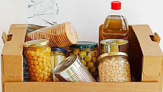 Rode Kruis start met voedselboxen voor mensen die in problemen zitten door corona
