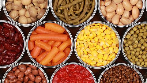 Suiker toegevoegd aan 46% van de groentenconserven}