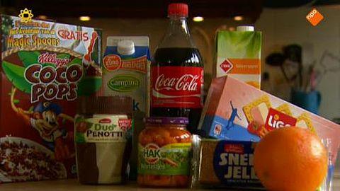 Fabrikanten misleiden met rooskleurige suiker-percentages op verpakking}