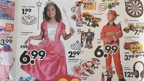 Jongens' en 'meisjesspeelgoed' oké, maar laat kind de keuze