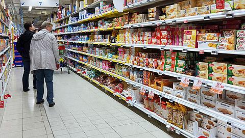 Koekjes uit Belgische supermarktschappen vanwege fipronil}